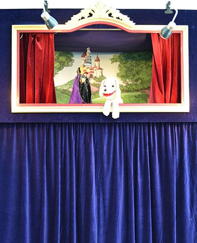 TriTra Puppentheater für Kinder buchen