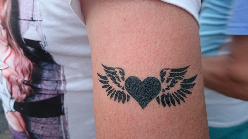 airbrush Tattoos für Kinder