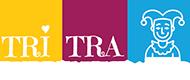 TriTra Puppentheater Logo weiss